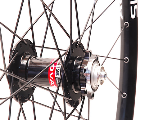 Novatec on Alex SPRK 2.1 Front by XLR8 Performance Bicycle Wheels