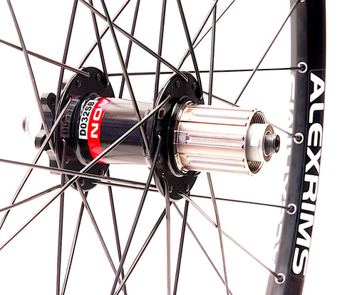 Novatec on Alex SPRK 2.1 Rear by XLR8 Performance Bicycle Wheels