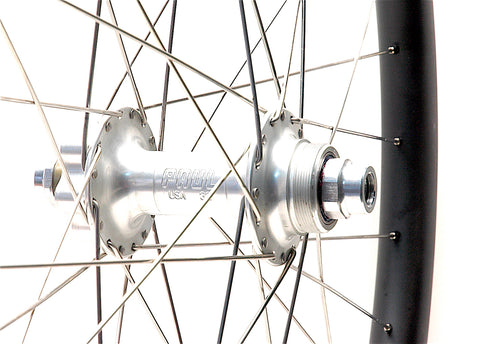 Paul Components on Nextie XC Carbon rims rear hub by XLR8 Perfromance Bicycle Wheels
