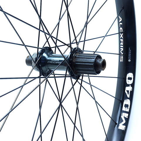 XLR8 Performance Bicycle Wheels Shimano Deore Centrelock on Alexrims MD40 Rear