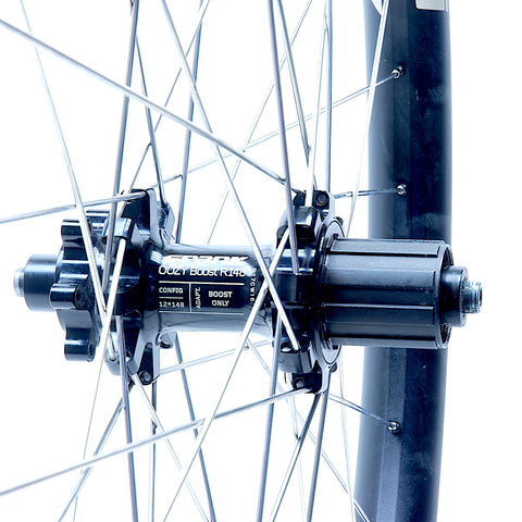 Spank Oozy Trail 395 Wheelset Rebuild Rear by XLR8 Performance Bicycle Wheels