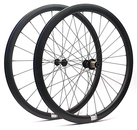 Tailwind Carbon on Bitex Hubs XLR8 Performance Bicycle Wheels Angled