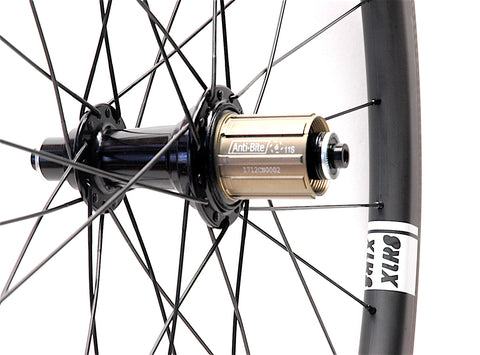 Tailwind Carbon on Bitex Hubs XLR8 Performance Bicycle Wheels Rear Hub