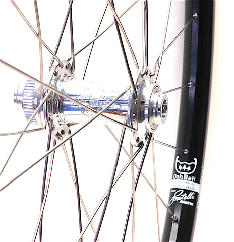 White Industries CLD on Spank Oozy Trail 295 rims by XLR8 Performance Bicycle Wheels Front