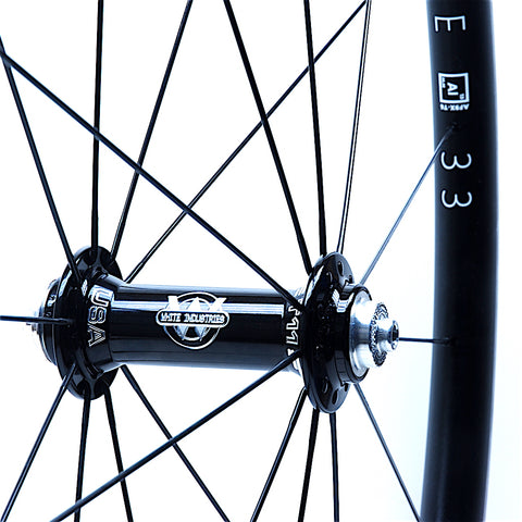 White Industries T11 on AForce AL33 Front from XLR8 Performance Bicycle Wheels