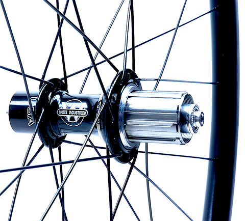 White Industries T11 on AForce AL33 Rear from XLR8 Performance Bicycle Wheels