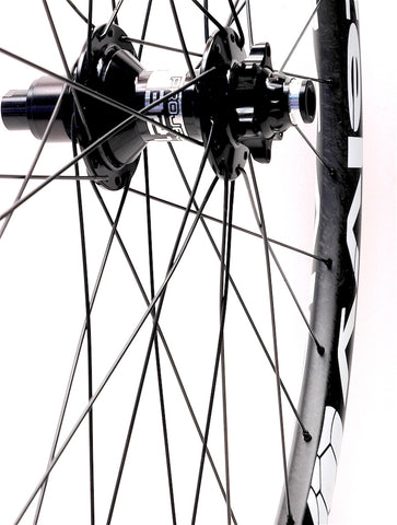 Zelvy Carbon rims on Project 321 hubs by XLR8 Performance Bicycle Wheels Rear