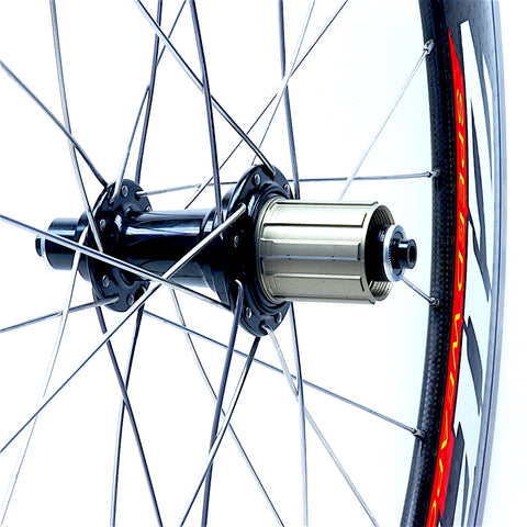 XLR8 Performance Bicycle Wheels Zipp 808 Alloy on Bitex RAR12 Rear