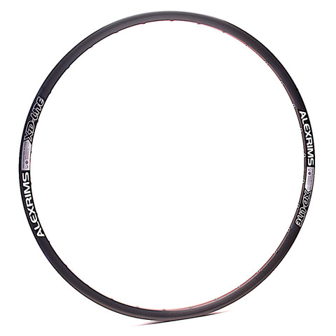 "AlexRims XD-Lite 27.5"" 650b 32h Black Tubeless MTB XC Trail Rim by XLR8 Performance Bicycle Wheels"