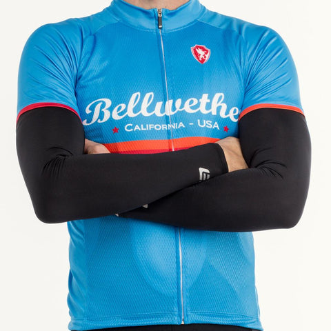Bellwether COLDFLASH UPF Sleeves Cycling Sun Protection Medium Black 50% OFF!