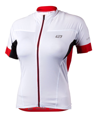 Bellwether OPTIME Premium Womens Coolmax Cycling Jersey White Small %50 OFF!