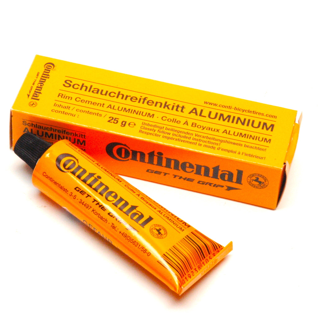 Continental Tubular Glue Rim Cement for Alloy Rims - 25g tube