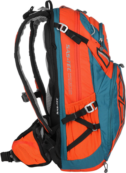 Deuter Attack 20L Bike Backpack Papaya Petrol Cycling Enduro MTB
