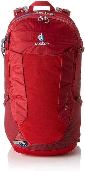 Deuter Futura 28L Backpack Black Cranberry Maroon MTB Hiking