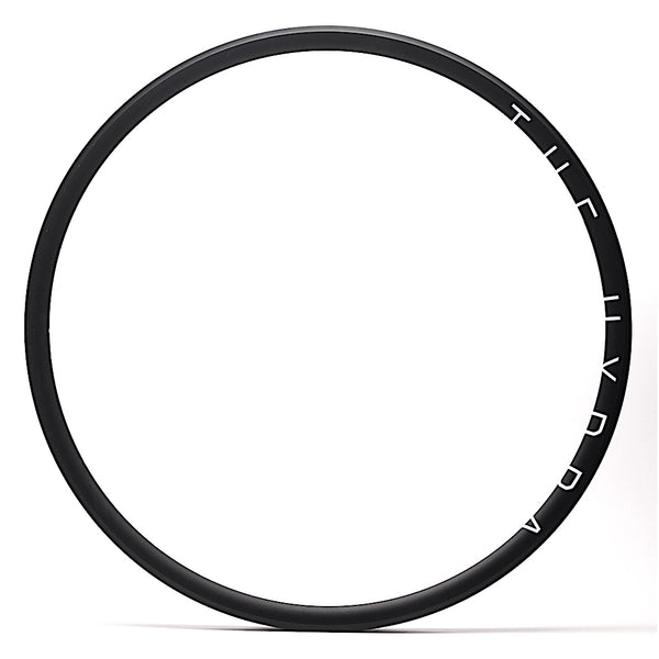 H Plus Son THE HYDRA 700c Black Anodised Disc Brake Road Rim by XLR8 Performance Bicycle Wheels