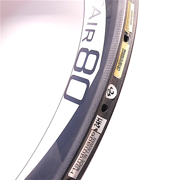 Profile Altair 80mm Carbon Tubular Time Trial Triathlon Road Rim - 24h