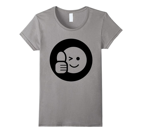 Thumbs Up T-Shirt Emoji Emoticon Approval Gesture Signal Tee