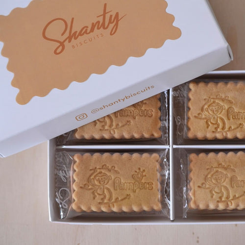 Shanty biscuits personnalisés Pampers