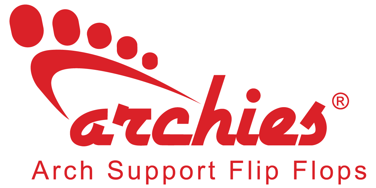Archies Arch Support Flip Flops - Orthotic Sandals