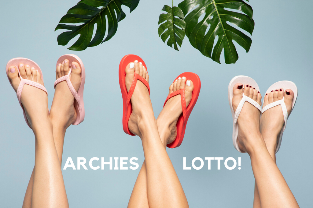 Win Archies Footwear Lotto