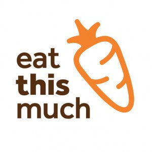 eat this much app logo healthy eating