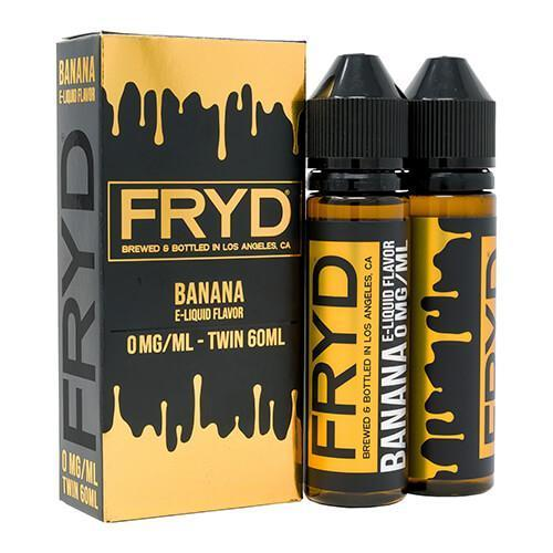 FRYD E-LIQUIDS - BANANA - 2 X 60ML - TWIN PACK