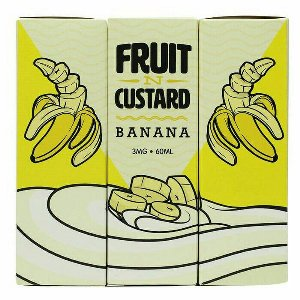 Fruit N Custard - BANANA Custard - 60ML