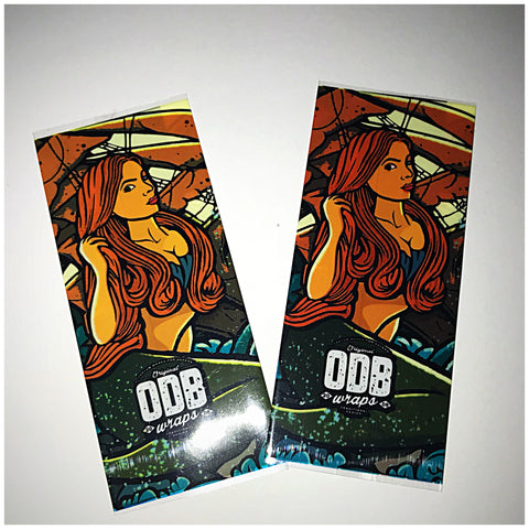 18560 BATTERY WRAPS- MERMAID -ODB STYLE  -2 Pack