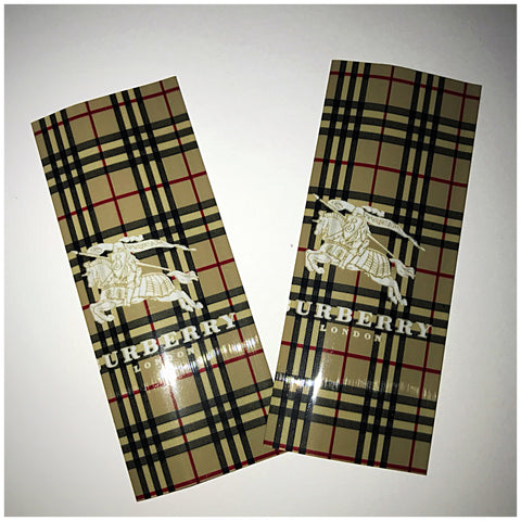18560 BATTERY WRAPS- BURBERRY LONDON -2 Pack