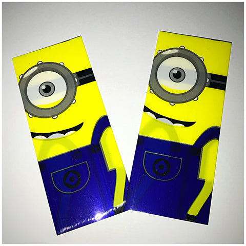 18560 BATTERY WRAPS- MINION -2 Pack