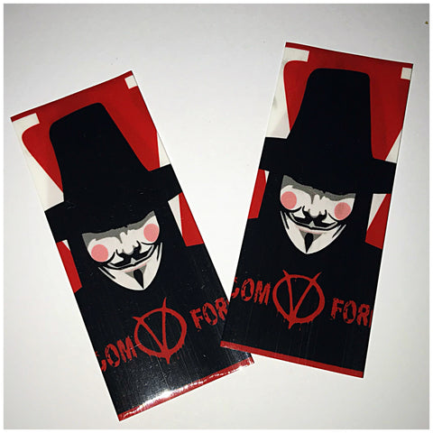 18560 BATTERY WRAPS- V FOR VENDETTA  -2 Pack