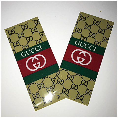 18560 BATTERY WRAPS- GUCCI -2 Pack