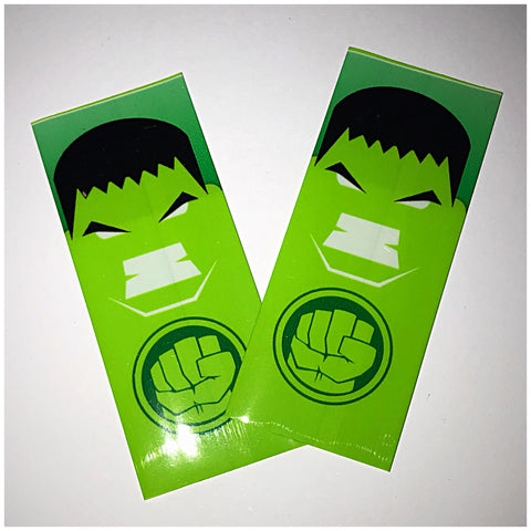 18560 BATTERY WRAPS- HULK -2 Pack