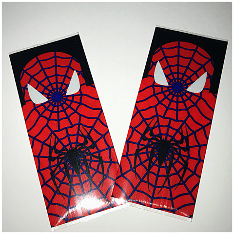 18560 BATTERY WRAPS- SPIDERMAN -2 Pack