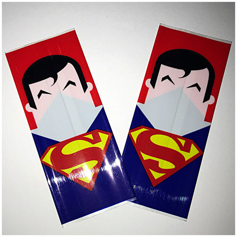 18560 BATTERY WRAPS- SUPERMAN -2 Pack