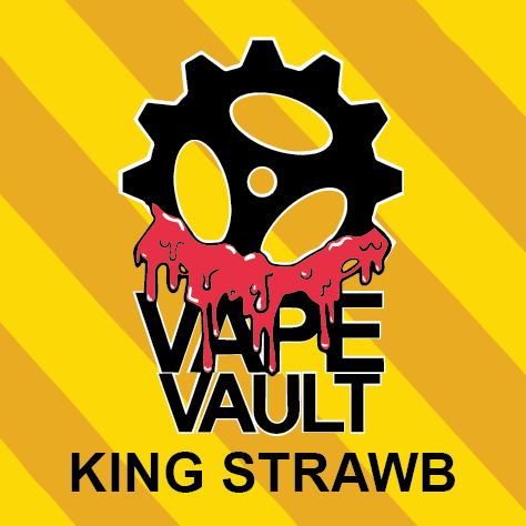 VAPE VAULT - KING STRAWB - 60ML