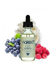Naked 100 Cream E-Liquid -Azul Berries 60ml