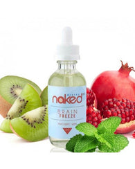 Naked 100 Menthol E-Liquid Brain Freeze 60ml