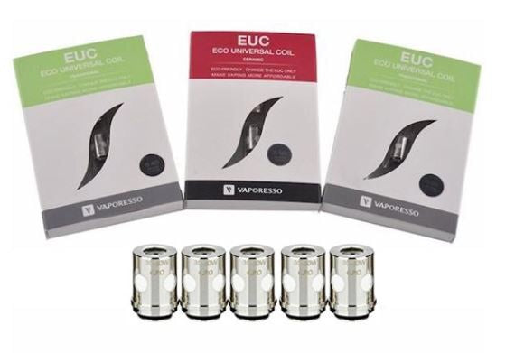 Vaporesso Traditional and Ceramic EUC coils 5 pack