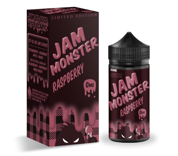 RASPBERRY- Jam Monster 100ML- LIMITED EDITION