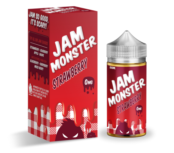 STRAWBERRY - Jam Monster 100ML