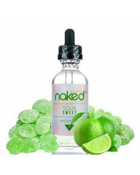 Naked 100 Fusion E-Liquid green lemon(sweet and sour) 60ml