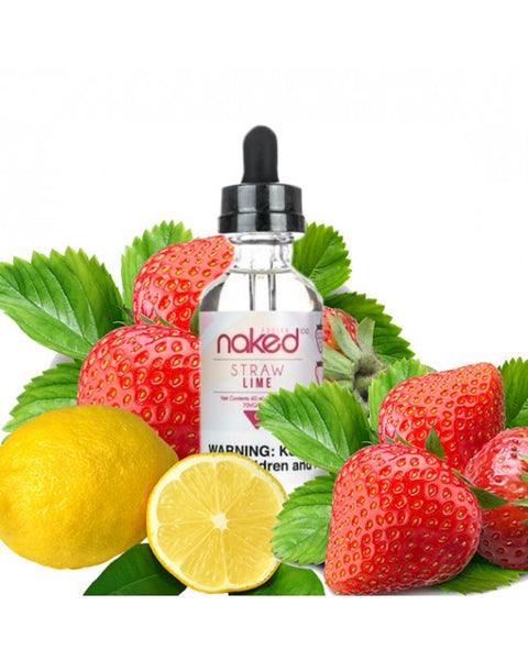Naked 100 Fusion E-Liquid Straw Lime 60ml