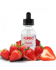 Naked 100 E-Liquid -Triple Strawberry 60ml