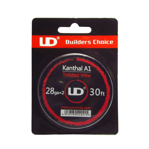 UD Kanthal Twisted Wire 30ft 28GA*2