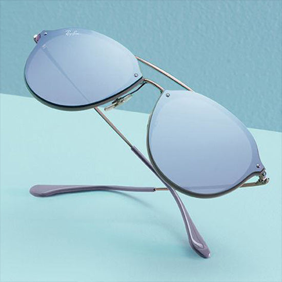 RAY-BAN BLAZE DOUBLE BRIDGE & AVIATOR