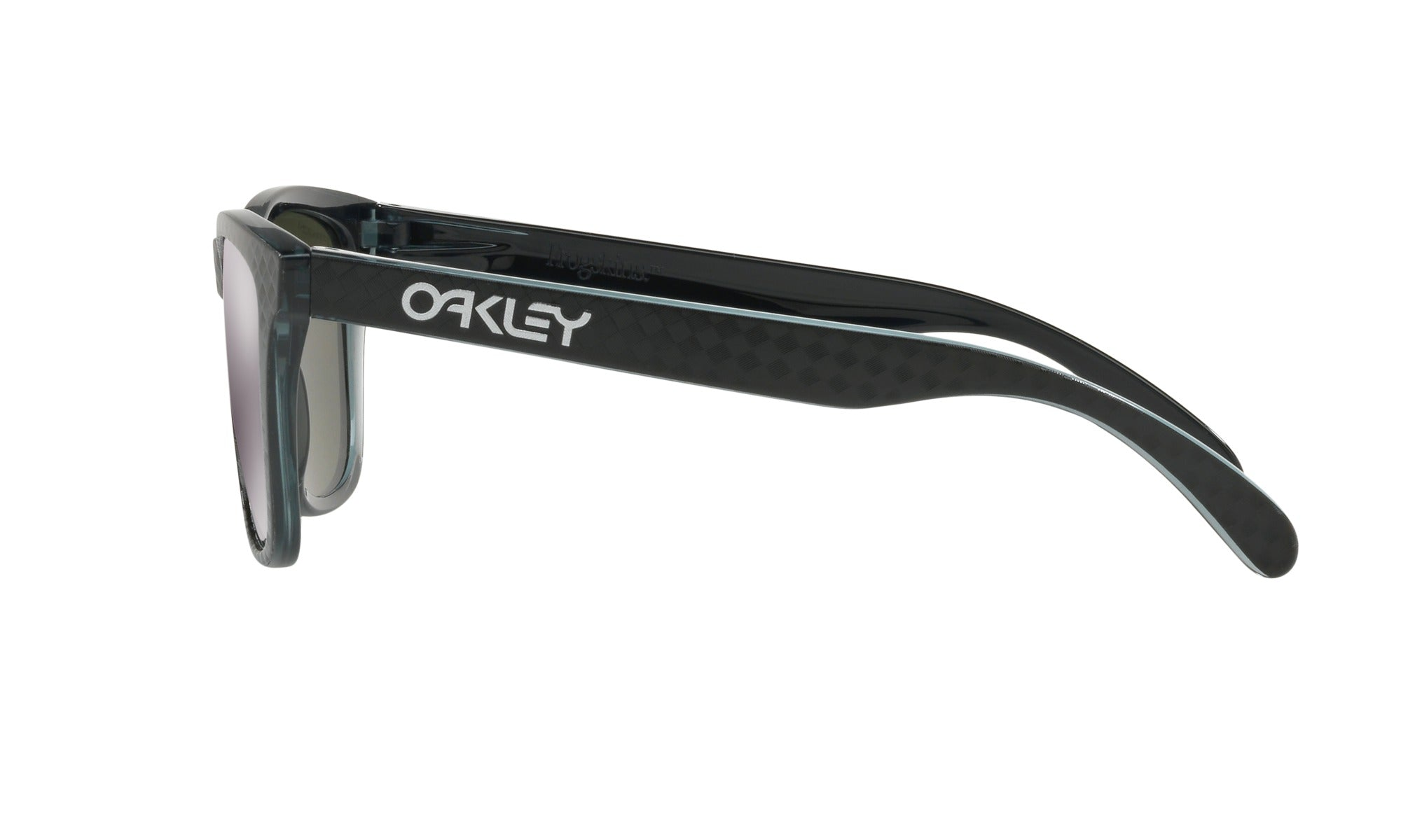 Oakley Frogskin Checkbox Black Side