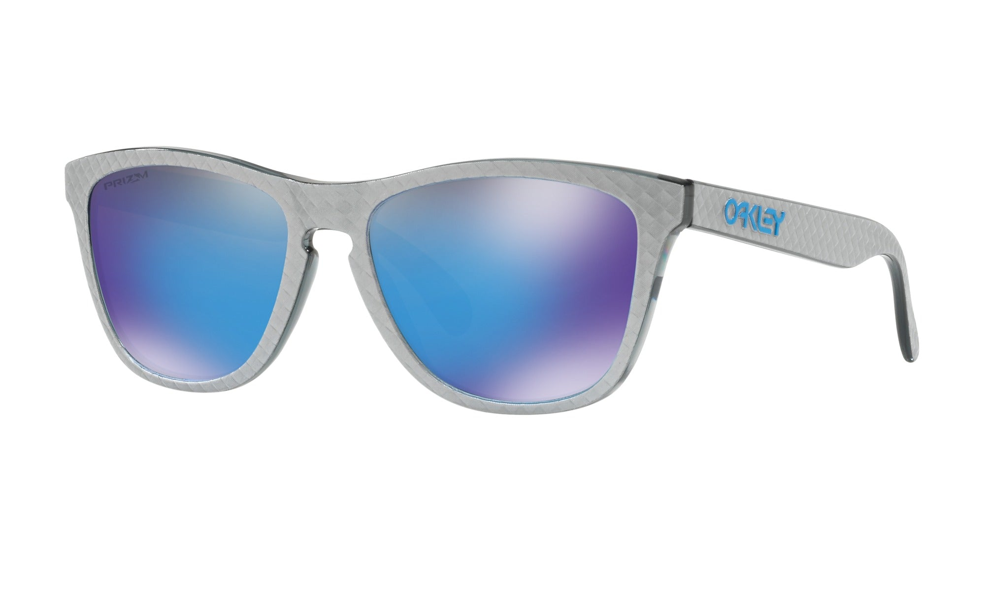 Oakley Frogskins Checkbox Silver Front