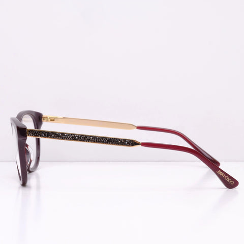 Jimmy Choo JC202 - Deep Red LHF 52x17