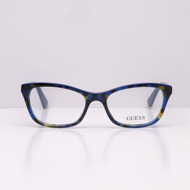Guess GU2602 - Blue Yellow Havana 092 52x17